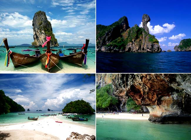 4 Amazing Islands of Krabi